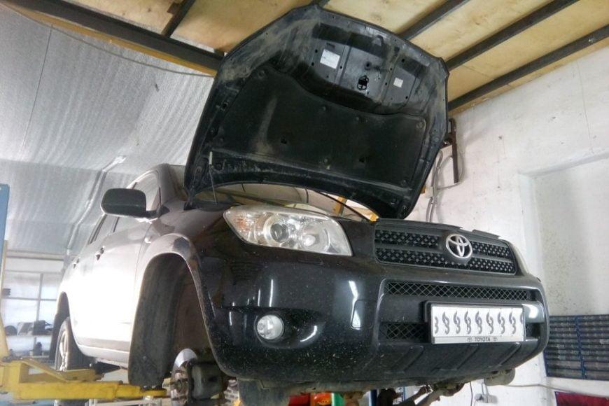 ремонт Toyota RAV4