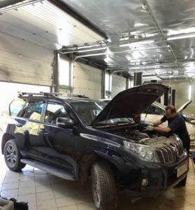 ремонт Тойота в Минске